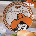 "Oklahoma State Cowboys NCAA College 11"" Gameday Ceramic Plate"