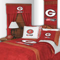 Univ of Georgia Bulldogs MVP Window Drapes