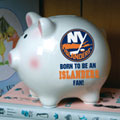 New York Islanders NHL Ceramic Piggy Bank