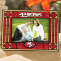 "San Francisco 49ers NFL 6.5"" x 9"" Horizontal Art-Glass Frame"
