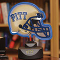 Pittsburgh Panthers NCAA College Neon Helmet Table Lamp