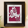 Arizona State Sun Devils NCAA College Laser Cut Framed Logo Wall Art