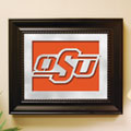 Oklahoma State Cowboys NCAA College Laser Cut Framed Logo Wall Art