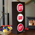 Detroit Redwings NHL Stop Light Table Lamp