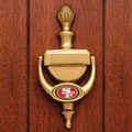 San Francisco 49ers NFL Brass Door Knocker
