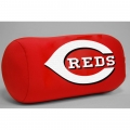 "Cincinnati Reds MLB 14"" x 8"" Beaded Spandex Bolster Pillow"