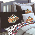 Baltimore Orioles Twin Size Sheets Set