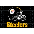 "Pittsburgh Steelers NFL 39"" x 59"" Tufted Rug"
