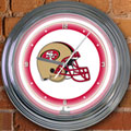 "San Francisco 49ers NFL 15"" Neon Wall Clock"