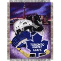 "Toronto Maple Leafs NHL Style ""Home Ice Advantage"" 48"" x 60"" Tapestry Throw"