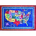 "State Capitals Rug (5'3"" x 7'6"")"