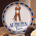 "Auburn Tigers NCAA College 11"" Ceramic Plate"
