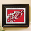 Detroit Redwings NHL Laser Cut Framed Logo Wall Art