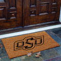Oklahoma State Cowboys NCAA College Rectangular Outdoor Flocked Door Mat