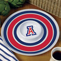 "Arizona Wildcats NCAA College 14"" Round Melamine Chip and Dip Bowl"