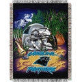 "Carolina Panthers NFL ""Home Field Advantage"" 48"" x 60"" Tapestry Throw"