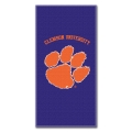 "Clemson Tigers College 30"" x 60"" Terry Beach Towel"