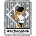 "Chicago White Sox MLB Baby 36""x 46"" Triple Woven Jacquard Throw"
