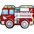 "Fire Engine Rug (31"" x 47"")"