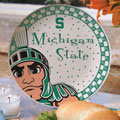 "Michigan State Spartans NCAA College 11"" Gameday Ceramic Plate"
