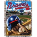 "Atlanta Braves MLB ""Home Field Advantage"" 48"" x 60"" Tapestry Throw"