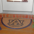 Auburn Tigers NCAA College Half Moon Outdoor Door Mat