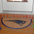New England Patriots NFL Half Moon Outdoor Door Mat