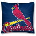 "St. Louis Cardinals MLB 16"" Embroidered Plush Pillow with Applique"