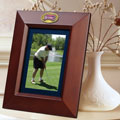 "Washington Nationals MLB 10"" x 8"" Brown Vertical Picture Frame"