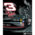 "Dale Earnhardt Sr. #3 NASCAR ""Full Throttle"" 50"" x 60"" Super Plush Throw"