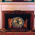 Chicago White Sox MLB Stained Glass Fireplace Screen