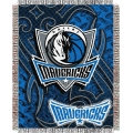 "Dallas Mavericks NBA 48"" x 60"" Triple Woven Jacquard Throw"