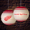 "Detroit Redwings NHL 18"" Rice Paper Lamp"