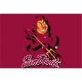 "Arizona State Sun Devils NCAA College 20"" x 30"" Acrylic Tufted Rug"