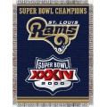 "St. Louis Rams NFL ""Commemorative"" 48"" x 60"" Tapestry Throw"