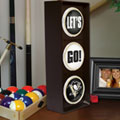 Pittsburgh Penguins NHL Stop Light Table Lamp