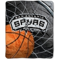 "San Antonio Spurs NBA ""Reflect"" 50"" x 60"" Super Plush Throw"