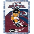 "Colorado Avalanche NHL Baby 36"" x 46"" Triple Woven Jacquard Throw"