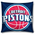 "Detroit Pistons  NBA 16"" Embroidered Plush Pillow with Applique"