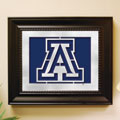 Arizona Wildcats NCAA College Laser Cut Framed Logo Wall Art