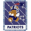 "New England Patriots NFL Baby 36"" x 46"" Triple Woven Jacquard Throw"
