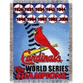 "St. Louis Cardinals MLB ""Commemorative"" 48"" x 60"" Tapestry Throw"