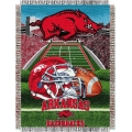 "Arkansas Razorbacks NCAA College ""Home Field Advantage"" 48""x 60"" Tapestry Throw"