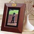 "Boston Red Sox MLB 10"" x 8"" Brown Vertical Picture Frame"