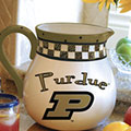 "Purdue Boilermakers NCAA College 14"" Gameday Ceramic Chip and Dip Platter"