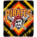 "Pittsburgh Pirates MLB ""Diamond"" 50"" x 60"" Micro Raschel Throw"