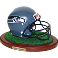 Seattle Seahawks NFL Football Helmet Figurine