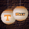 "Tennessee Vols NCAA College 18"" Rice Paper Lamp"