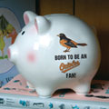 Baltimore Orioles MLB Ceramic Piggy Bank