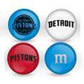 Detroit Pistons Custom Printed NBA M&M's With Team Logo